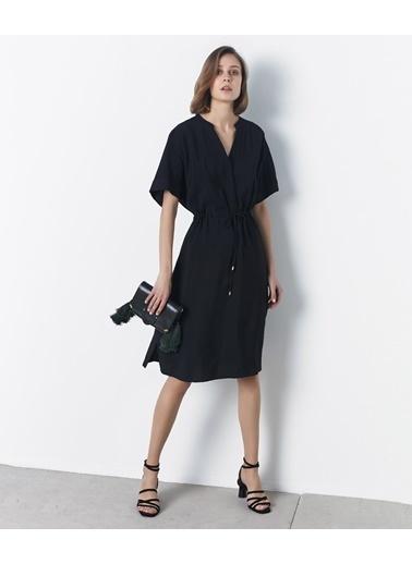 Ipekyol Ayarlanabilir Bel Elbise Siyah